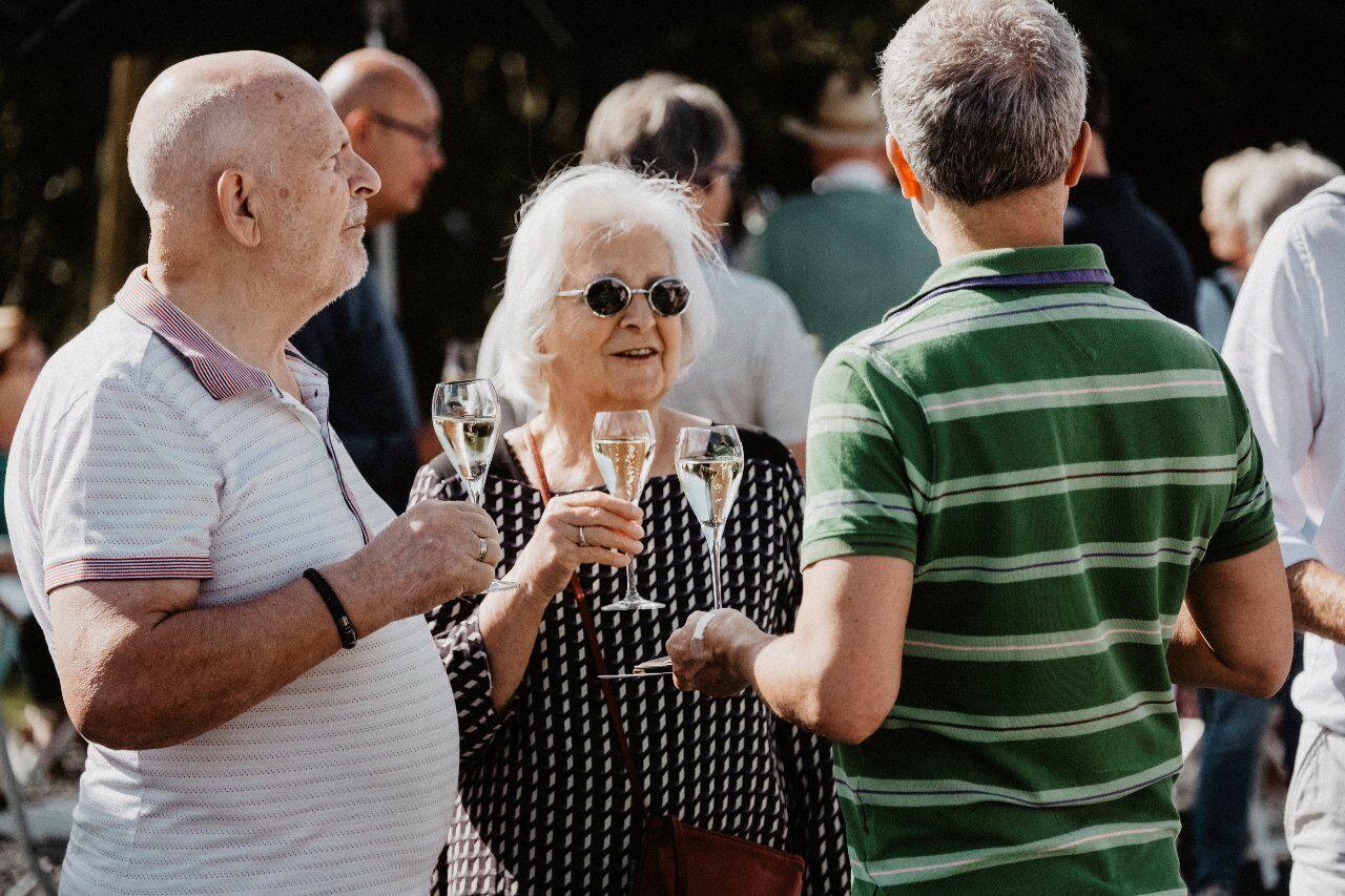 Genieten van de Reestlander wijn